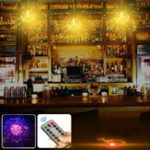 Оригинал Battery And USB Powered Waterproof 8 Modes 120LED Starburst Sliver Wire String Light Party Home Decor