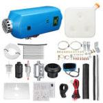 Оригинал 8KW 12V Diesel Air Нагреватель LCD Термостат Глушитель 10L Топливный бак для грузовых автомобилей Лодка Автотрейлер