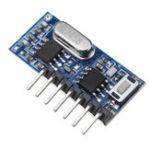 Оригинал 3шт Geekcreit® RX480E-4 433MHz Wireless RF Приемник Модуль декодирования обучающего кода 4-канальный выход