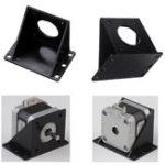 Оригинал 42мм L-образный пластиковый монтажный кронштейн для NEMA17 степпера Мотор 3D-принтер