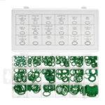 Оригинал 270шт зеленый нитриловый резиновый уплотнительное кольцо крана шайба прокладка комплект уплотнения метрическая ассортимент сантехника На