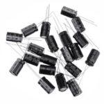 Оригинал 20шт высокочастотный низкий импеданс 25 В 1000 мкФ 10 * 13 мм алюминиевый электролитический конденсатор 1000 мкФ 25 В 25V1000 мкФ