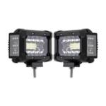 Оригинал 3.5 дюймов 72W LED Рабочий световой патрон боковой стрелок прожектор Combo Beam 2Pcs для внедорожника Jeep Offroad ATV