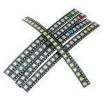 Оригинал 100шт 5 цветов 20 каждый 5050 LED диодный ассортимент SMD LED диод Набор зеленый / красный / белый / синий / желтый