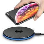 Оригинал FLOVEME5WQiБыстроебеспроводноезарядное устройство для iPhone X XS Max Xr Xiaomi MI8 S9 Plus Note 9