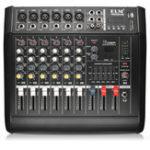 Оригинал EL M PMX602D-USB 6-канальное питание Усилитель DJ Karaoke Audio Mixer Поддержка USB-карта памяти