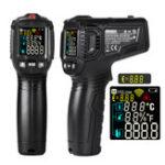 Оригинал WINAPEX ET6531D -50 ~ 800 ° C Бесконтактный инфракрасный цифровой гигрометр Термометр с Colorful ВА экраном