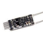 Оригинал WOWBINGO W8B MINI 2.4G 8 / 18CH PPM S.BUS AFHDS 2A Приемник для Flysky FS-I6 FS-I6X FS-I6X FS-I8 FS-I10 Радио Передатчик