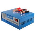 Оригинал AJ-618E 12V / 24V 150V-250V 200AH Свинцово-кислотное зарядное устройство Батарея PWM Авто Smart Repair Батарея Зарядное устройство
