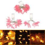Оригинал 1M 2M 5M Батарея Powered Unicorn LED String Свадебное Праздничный светлый рождественский декор IP65