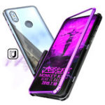 Оригинал Bakeey 360 ° Магнитная адсорбция Модернизированная версия Закаленное стекло и металл Защитная флип Чехол для Xiaomi Mi MIX 3