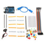 Оригинал DIY Доска для хлеба LED UNOR3 Базовое обучение для начинающих Набор Стартер Набор для Arduino