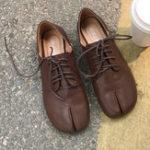 Оригинал ЖенщинасраздвоеннымноскомSoftПовседневные туфли на плоской подошве