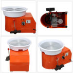 Оригинал 110V 550W Электрическое гончарное колесо Керамический Машина 320мм Керамический Clay Potter Набор