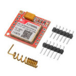 Оригинал SIM800L GPRS Плата адаптера GSM Модуль MicroSIM Card Минимальная основная плата