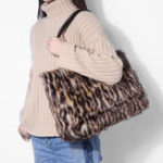 Оригинал Women Fashion Leisure Brief Plush Tote Bag