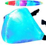 Оригинал 7 Color Светодиодный Dust Haze Face Маска DJ Party RaveХип-хоп Танцевальная сцена COS