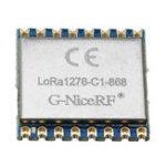 Оригинал LoRa1276-C1 SX1276 Модуль LoRa 915 МГц Дистанционный Беспроводной модуль с расширенным спектром 20 дБм 100 мВт 3-5 км