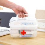 Оригинал Семейство Медицинская Хранение Коробка Многослойное аварийное хранение Коробка Пластик Medicina Security Коробка