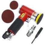 Оригинал Мини Air Sander Air Die Grinder Пневматический полировщик шлифовальный инструмент для полировки с шлифовальной площадкой