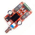 Оригинал HIFI 2.0 TPA3116D2 2 x 50 Вт Цифровое аудио Усилитель Двухканальная стереофоническая плата Усилитель