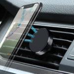 Оригинал Магнитный держатель для телефона Авто 360 Rotation Air Vent GPS Универсальный держатель для Xiaomi / iPhone
