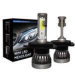 Оригинал 80 Вт Mini Авто LED Фары Лампы H1 H4 H7 H8 9005 9006 9012 Противотуманные фары Лампа DC 9-32 В 10000 л
