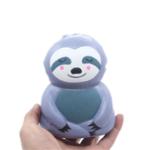 Оригинал Ленивец Squishy Grey 12.5 * 9.5cm Медленно растущие отскок игрушки с упаковкой