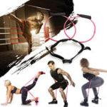 Оригинал KALOAD 40LB Розовый Тренировочные пояса для тренировок с глютенами Ремень Butt Lift Yoga Band