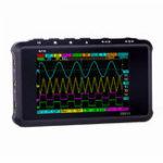 Оригинал MINI DS213 Цифровой накопитель Осциллограф Портативная полоса пропускания 15 МГц 100 мс / с Частота дискретизации 2 аналоговых канала + 2 цифровых