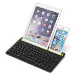 Оригинал Беспроводная связь Bluetooth 3.0 Клавиатура Stand Holder Для iPhone / iPad / Macbook / Samsung / iOS / Android / Windows