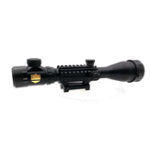 Оригинал KALOAD 4-16×50 Red/Green Illuminated Tactical Hunting Sight 20mm Weaver Rail Hunting Air Soft Scopes