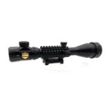 Оригинал KALOAD 4-16×50 Red/Green Illuminated Tactical Hunting Sight 20mm Weaver Rail Hunting Air Soft Scopes