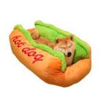 Оригинал Горячий Собака Форма Pet Матрас Щенок Кот Soft И Грязная Кровать Любимчика S LSize
