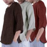 Оригинал Мужские хлопковые дышащие удобные футболки с коротким рукавом Топы