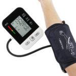 Оригинал Цифровой LCD руку пульс артериального давления Монитор Здоровье уход верхняя сфигмоманометра
