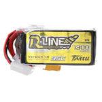 Оригинал Gens Tattu 22.2V 1300mAh 95C 6S Lipo Батарея XT60 Разъем для FPV RC Racing Дрон