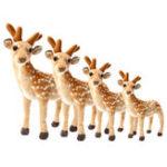 Оригинал Детская игрушка для малышей Sika Фаршированная плюшевая игрушка Олень Soft Игрушка для животных House Play