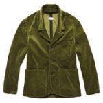Оригинал Мужская ретро модная вельветовая куртка с большими карманами Повседневный пиджак