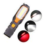 Оригинал XANES®6302BCOB+LED4 режима 90-градусный фонарик с вращающейся головкой USB аккумуляторная рабочая лампа