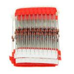 Оригинал 250 шт. 25 значений 1 Вт стабилитроны Набор 3 В до 33 В ассортимент Набор