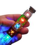 Оригинал KCASAKC-106LightКостиПлазменныйЗажигалка Ветрозащитный USB Зарядка LED Электрический Беспламенный Зажигатель Творческие Бизнес-Подарки