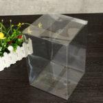 Оригинал 18 * 18 * 27 см ПВХ Pop Protector Кристально прозрачный пластик Коробка Стандартная упаковка Защита Чехол Совет