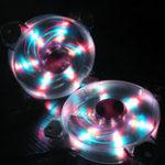 Оригинал Coolmoon 1PCS 12см RGB вентилятор с подсветкой для настольных ПК