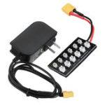 Оригинал JKK01 3.7V 1S Lipo Батарея Зарядное устройство XT60 с адаптером питания DC5.5
