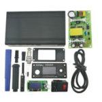 Оригинал KSGER STM32 OLED T12 V2.1S Регулятор температуры 1.3-дюймовый экран Black Metal Чехол Крышка блока питания 9501 Пайка Набор ручек