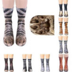 Оригинал 1Pair3DAnimalsPrintНоскиДети Экипаж Длинные Носки Soft Повседневная Cute Cotton Носки Косплей Трубка Носки