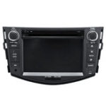Оригинал Double Din 7 дюймов Авто 3G GPS навигация MP5 FM Bluetooth Видеоплеер для Toyota Rongfang RAV4 с 2006 по 2012 год