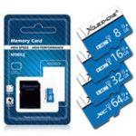 Оригинал Xoueshone16GB32GB64GBClass10 High Speed TF Flash Карта памяти с адаптером SD для мобильного телефона