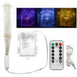 Оригинал USB Батарея Dual Powered 180 LED Starburst String Fairy Light Праздник Свадебное Партия Украшения Дома